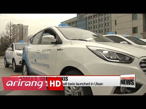 Hydrogen-powered taxis launched in Ulsan