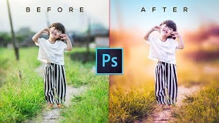 Photoshop Tutorial | CC 2017 | Camera Raw Filter | How to edit photo with Photoshop