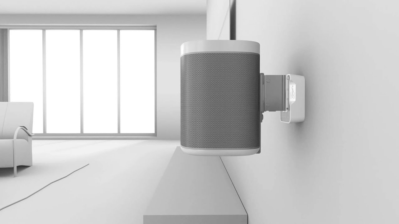 vogels wall mount for sonos youtube rh youtube com Sonos Wireless System Sonos Wireless System