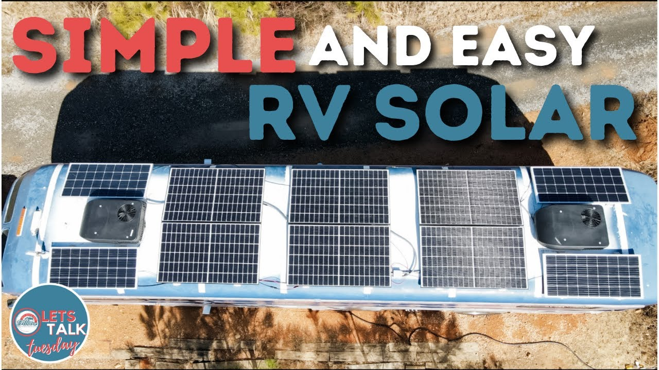 Download Simple and Easy Solar Set Up for Your RV