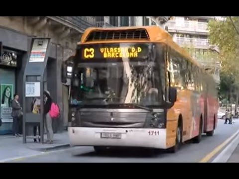 Volvo Sunsundegui Astral articulated bus, Barcelona metropolitan area