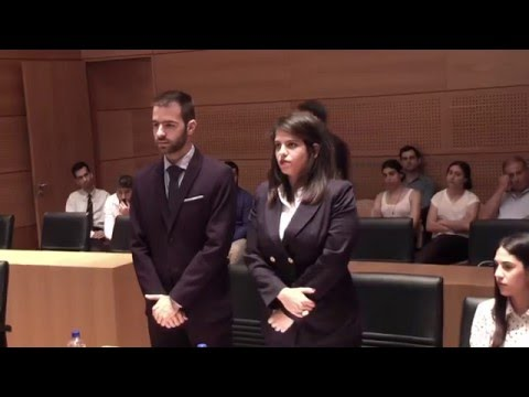 3rd National Moot Court Competition ELSA Cyprus (Final)