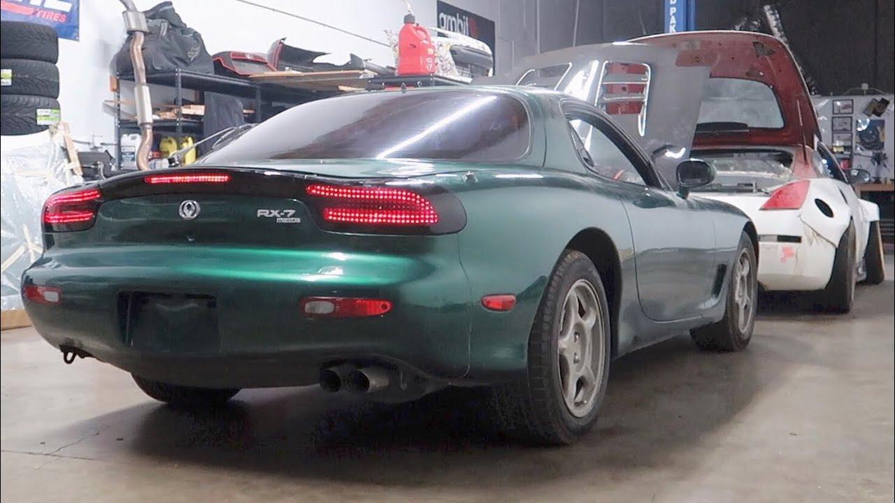 Rx 7 Tail Light Install Car Shop Glow V1 Youtube