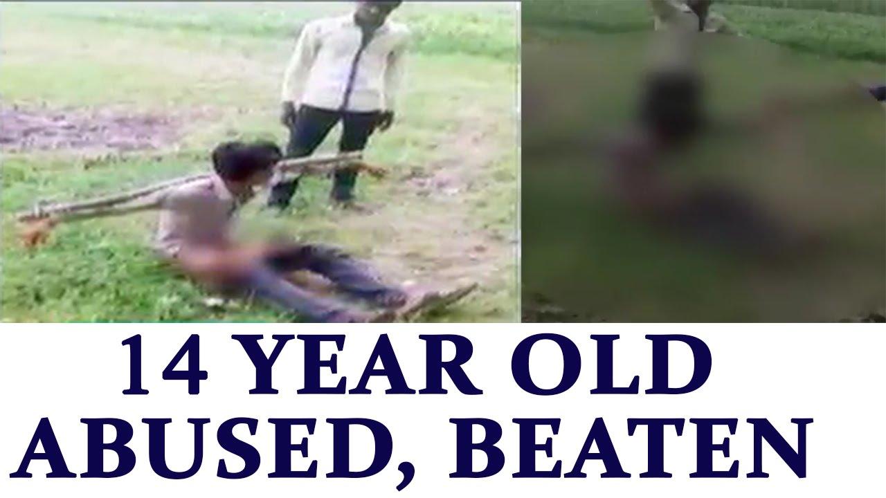 boys Naked and beaten