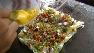 Jakarta Street Food 562  Okonomiyaki by Mister Tako Indonesian Octopus Ball  BR TV 4078