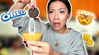 Tasting BUZZFEED WEIRD Food Combinations People LOVE !! *I'M SHOCKED**