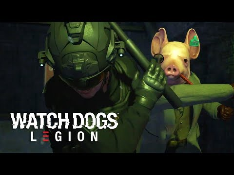 Watch Dogs: Legion - Official Gameplay Reveal   E3 2019