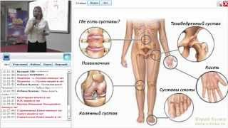 Вебинары Тяньши.  Проблемы с суставами. Причины и следствие. Продукция Тяньши для суставов.