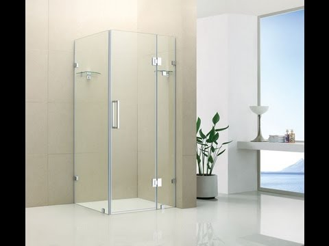 Buy Frameless Shower Screen In Melbourne Single Swing