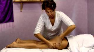 Repeat youtube video Practical course of Anti cellulite massage - Buttocks and Legs - pt. 3 (sub eng)