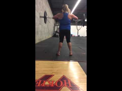 Courtney Sims 16.1 Crossfit Open 2-27-16