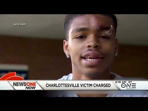 WTH?! Charlottesville Victim DeAndre Harris Was Charged With A Felony