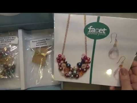 Facet Jewelry Box Opening & Review