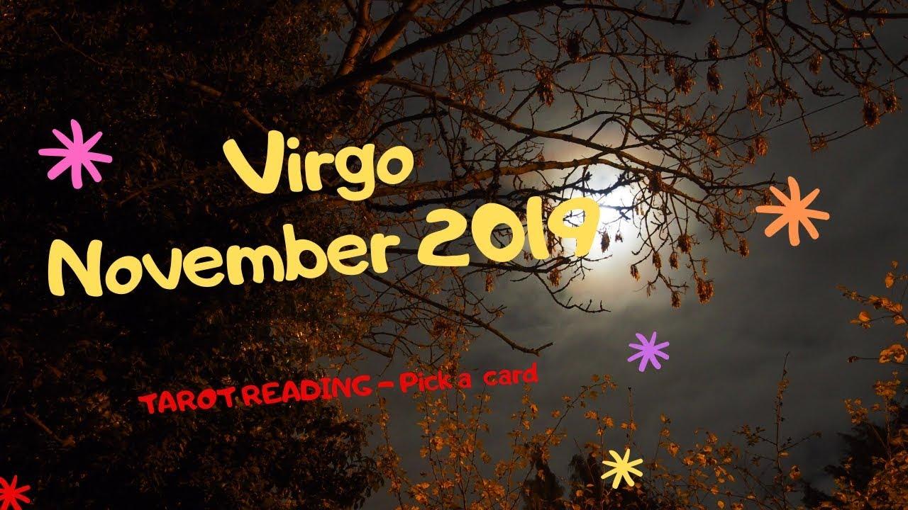 VIRGO ❤️MASSIVE SHIFT OF YOUR LIFE!! WOW!❤️NOVEMBER 2019 - TAROT READING #1