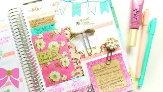 How To Stay Organized: Inside My Erin Condren Planner | Belinda Selene