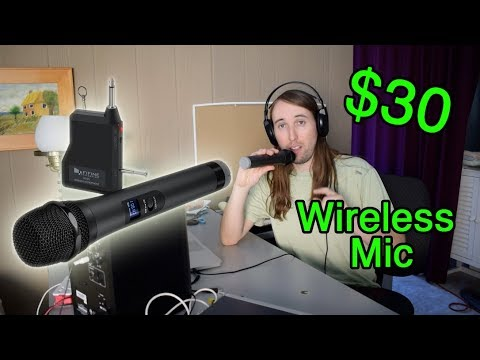 Fifine K025 Wireless Microphone Review