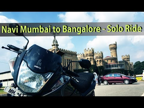 Navi Mumbai to Bangalore on 150CC CBZ Xtreme - My solo ride