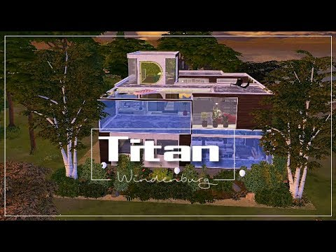 SIMS 4 || HOUSETOUR || THE TITAN MOVIE HOUSE [DOWNLOAD incl. Full CC]
