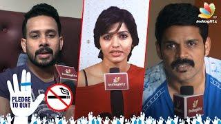 No Smoking Celeb Requests : World No Tobacco Day