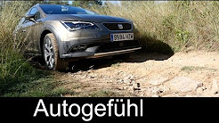 2015 All-new Seat Leon X-Perience REVIEW offroad onroad test drive