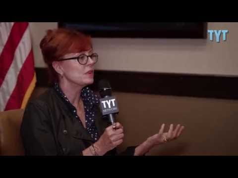 FULL Susan Sarandon Interview On Bernie Sanders and California