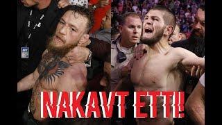 ÖZET!! Khabib Nurmagomedov vs. Conor McGregor  -300 MILYON DOLAR KAZANDI