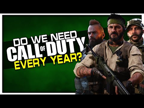 Do we Need a New Call of Duty Every Year?