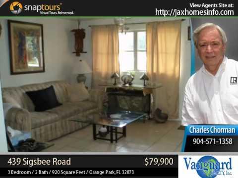 Orange Park Fl / Home For Sale Florida / Real Estate / 439 Sigsbee Road