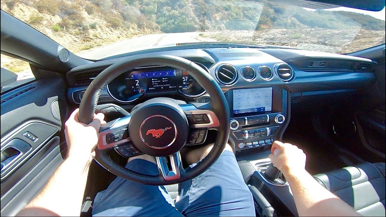 2021 Ford Mustang Mach 1 POV Drive! *INSANE EXHAUST*