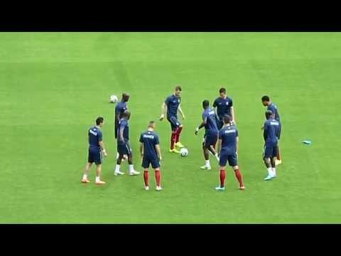 Loïc Rémy ● Olivier Giroud ● Bacary Sagna ● France vs Honduras 2014