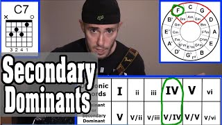 Using Secondary Dominants to Spice up Your Chord Progressions