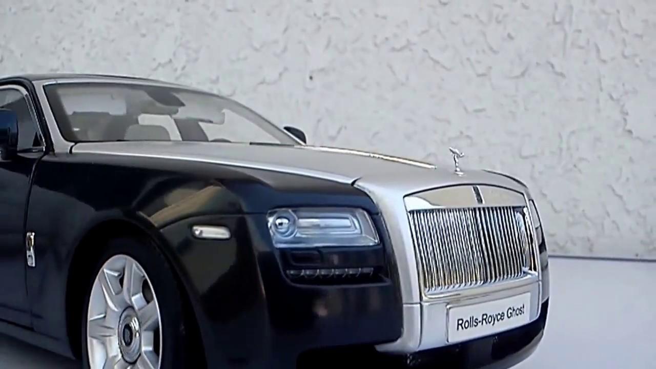 Rolls Royce Ghost 1/18 Kyosho - YouTube