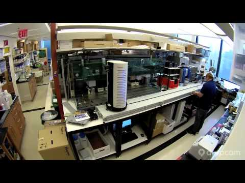 Birth of a laboratory automation system - YouTube