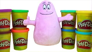 Play Doh Dippin Dots Surprise Barbapapa Family