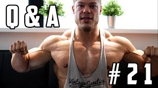 Q&A #21 - Classic Physique Threats - Will I Win the Olympia? - Digestions Problems - Supplements