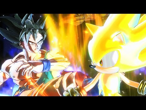 Ultra Instinct Son Goku Vs Hyper Sonic | Sprite Battle of Legends Part 1
