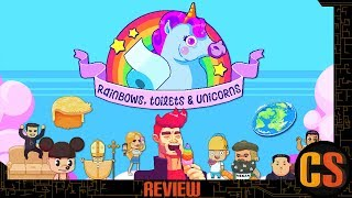 RAINBOWS, TOILETS AND UNICORNS - PS4 REVIEW (Video Game Video Review)