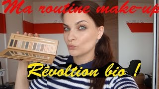 Ma routine make up du moment - revolution bio inside