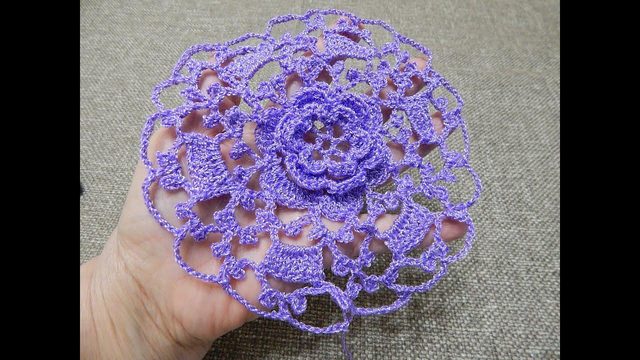 Flor Linda Crochet - YouTube