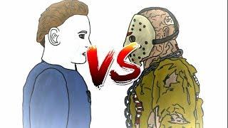 Michael Myers Vs. Jason Voorhees (Remake) | Drawing Cartoons 2 FULL