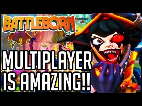 Battleborn Gameplay - Multiplayer Part 1 - SO. FREAKING. FUN!! (PC/PS4/XB1 1080p 60fps HD)