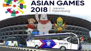 Download Video Pengawalan ketat Bus Rombongan Atlet Asian Games MP3 3GP MP4