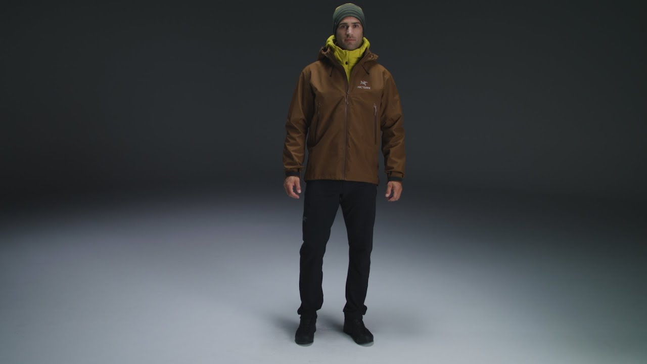36de07b9ea2 Arc'teryx - Beta AR Jacket Men's - Caribou - YouTube