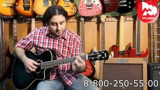 электроакустическая гитара yamaha apx 500ii obb