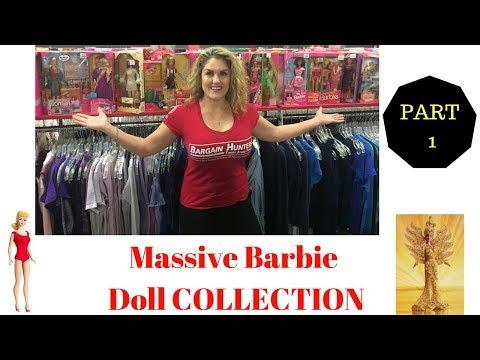 Massive Barbie Doll Collection Storage Wars Find Part 1 Rene Casey Nezhoda