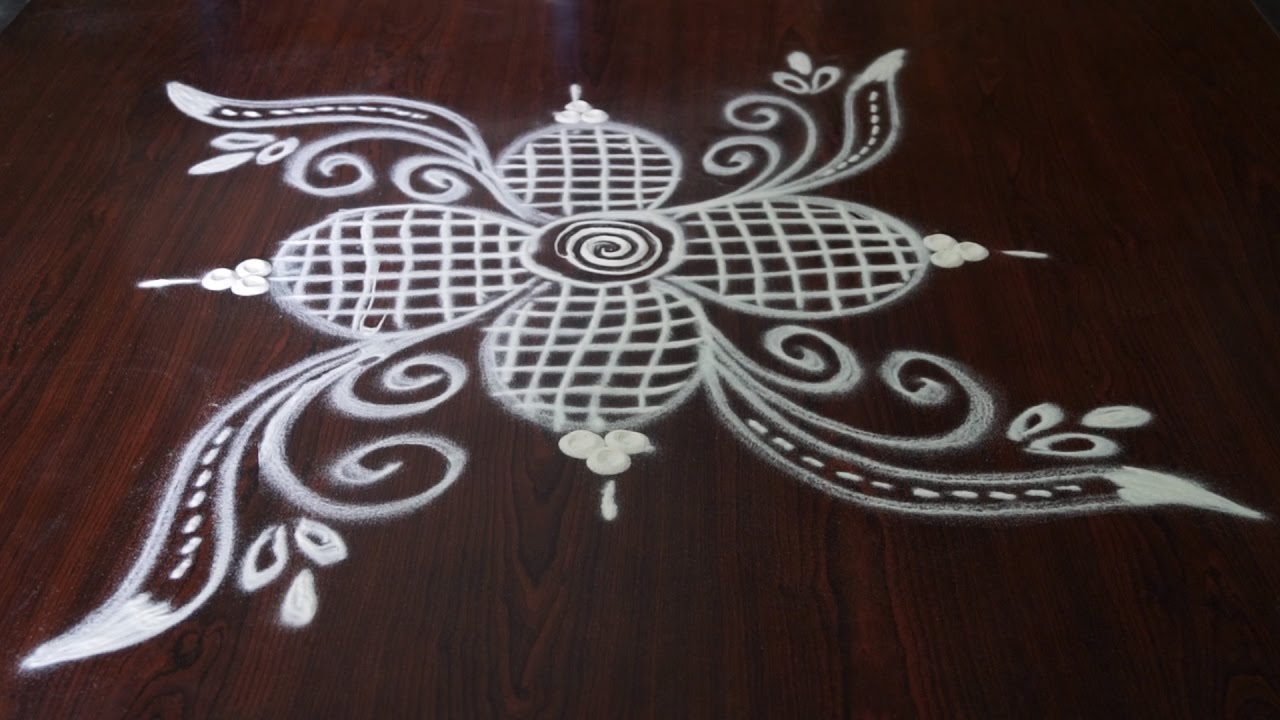 simple and small rangoli designs without dots simple kolam
