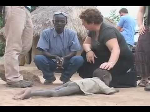 Sponsor a child | shocking scene of three starving kids in africa part 1
