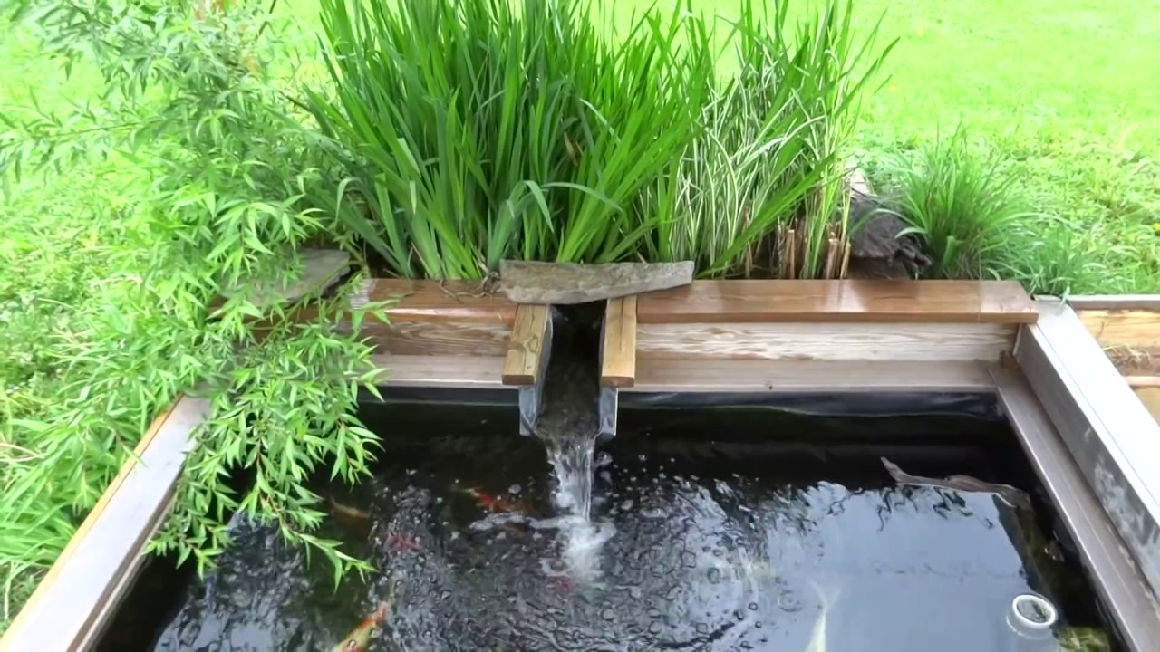 best koi pond design! - YouTube on Koi Ponds Ideas  id=92232