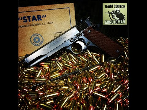 Star Modelo Super B 9mm Pistol Review