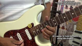 How To Play VOYAGE TO ATLANTIS Electric Guitar Solo Ernie Isley Lesson @EricBlackmonGuitar